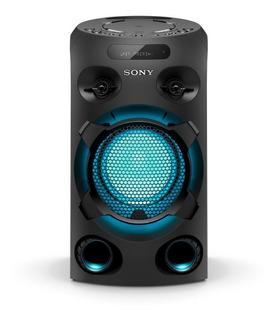 Parlante Bluetooth Sony Mhc-v02 Equipo De Musica Torre De Sonido Cd