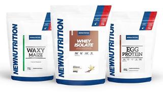 Kit Whey Isolado 900g + Albumina 500g + Waxy Maize 1kg New