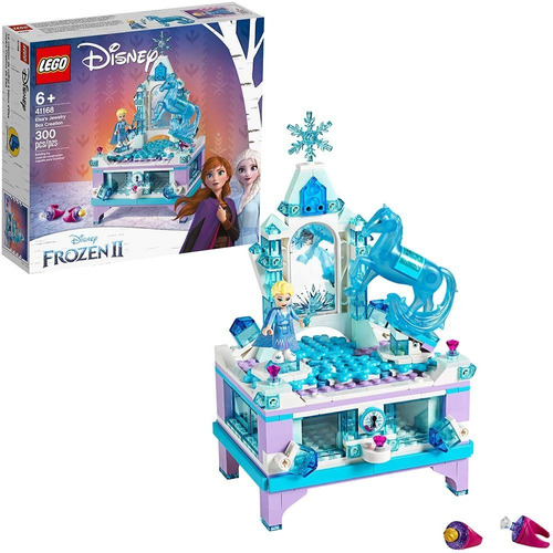Imagen 1 de 7 de Lego Frozen 2 Joyero De Elsa 41168 300 Pzs Disney Original