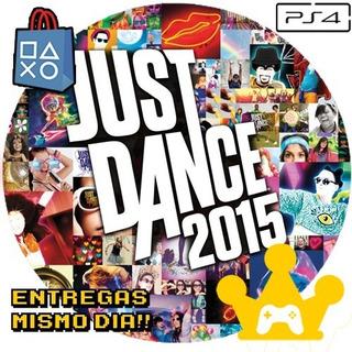 Just Dance 2015 Ps4 Español Jugá Con Tu Usuario !! -kg-