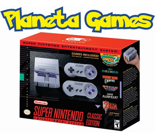Super Nintendo Nes Classic Edition Oferta Limitada