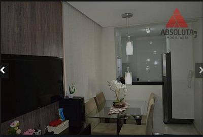 Apartamento Com 2 Dormitórios À Venda, 49 M² Por R$ 170.000 - Loteamento Industrial Machadinho - Americana/sp - Ap1923
