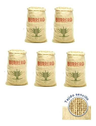 Costales Henequen Fibra Natural Resistente Biodegradable 5pz