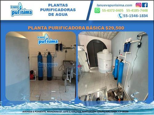 Imagen 1 de 10 de Planta Purificadora De Agua $29,500.00 Sin Anticipos