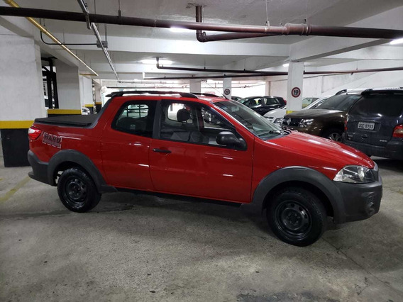 Fiat Strada Working Hard 1.4 Cabine Dupla 14/15 - R$ 42.000