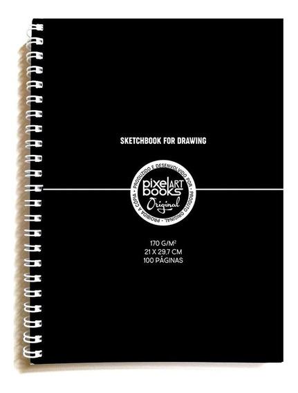 Caderno Desenho C/ Espiral 29,7x21cm A4 50 Folhas 170grs