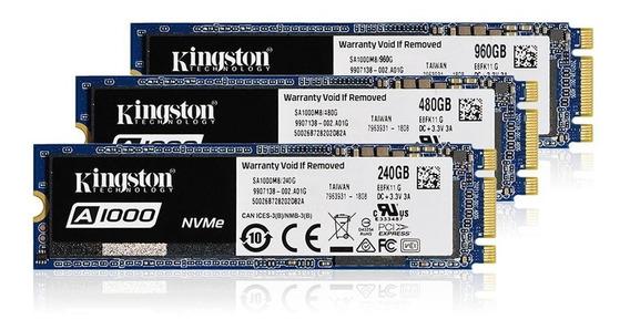 Ssd M2 240gb Kingston A1000 M2 Pcie Nvme Ger3.0 -1.500mb/s