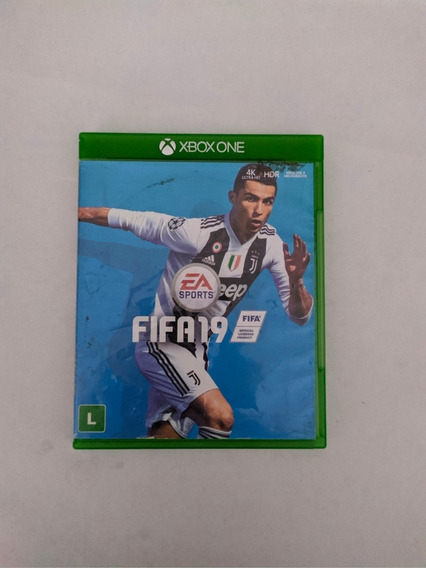 Jogo Fifa 19 Mídia Física Xbox One