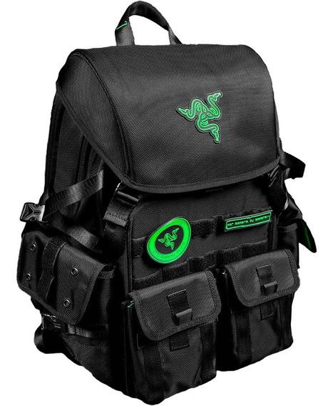 Mochila Gamer Razer Tactical Pro 17.3 Negro/verde