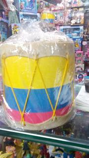 Tambor Para Niños En Cuero De Colombia