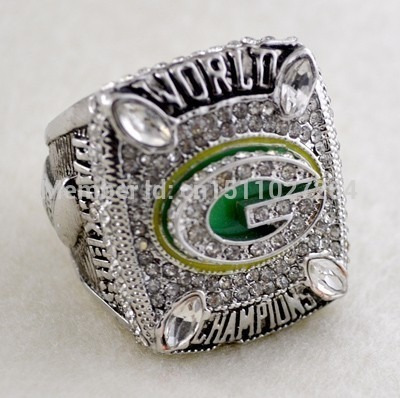 Anel Super Bowl Xlv 2010 Nfl Green Bay Packers Rodgers 12