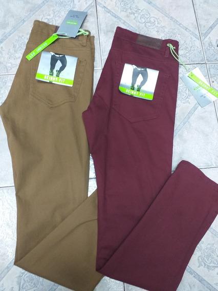 Pantalon Importado Vinotinto-mostaza