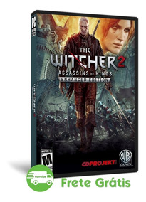 The Witcher 2 Pc Enhanced Edition Português Mídia Física Dvd