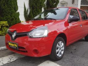 Renault Clio 1.0 16v Expression Hi-power 5p 2014 Vermelho