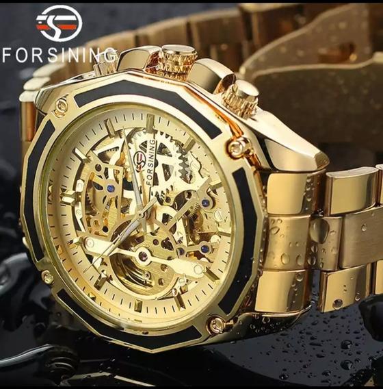 Relógio Masculino Mecânico Automático