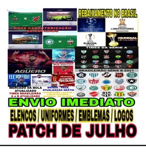 Patch Atualização Pes 2020 Ps4 Brasileirão 2021 Option File