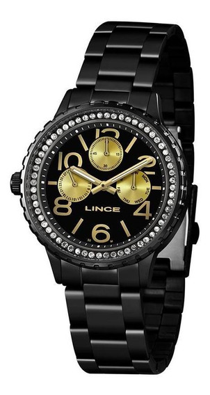 Relógio Lince Feminino Lmn4624l Nfe Garantia Multifuncao