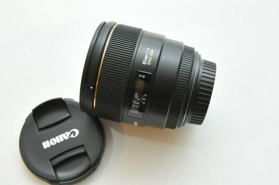 Lente Sigma Af 85mm F/1.4 Ex Dg Hsm (fx)