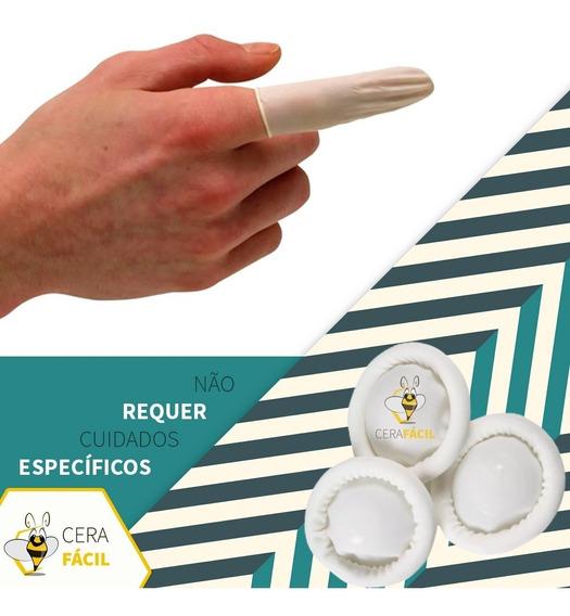 Dedeira De Látex Descartável 50un Santa Clara - 10 Pacotes