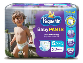 Pañal Pequeñin Baby Pants Etapa 5 X 22und