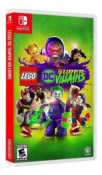 Jogo Lego Dc Super Villains Nintendo Switch Midia Fisica
