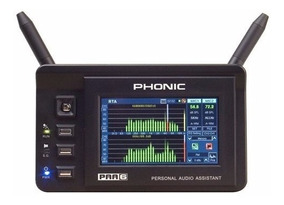 Analisador De Audio Paa6 Phonic Original N.fiscal Mostruário