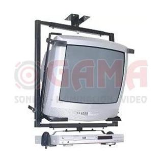 Soporte Tv/monitor/vcr 14-21 Techo Negro Sbr21 Sbr2.1 Brasfo