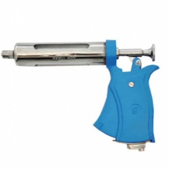 Pistola Veterinaria Seringa Dosadora Servi 50ml Aut S/ Acessorios