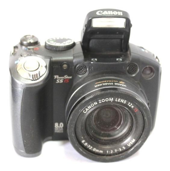 Câmera Digital Super Canon S5is Sucata P/ Retirada Peça