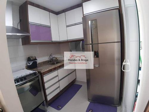 Imagem 1 de 19 de Fatto Passion Apartamento Com 3 Dormitórios À Venda, 65 M² Por R$ 375.000 - Vila Augusta - Guarulhos/sp - Ap2426