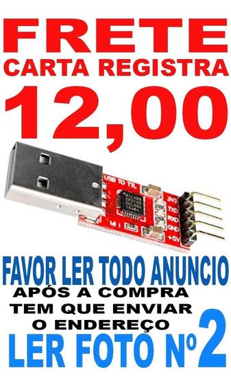 Usb Serial Ttl Uart Cp2102 Ler Anuncio Foto Carta Reg T4-8 ?