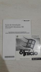 Manual + Cd Windows 98 Original