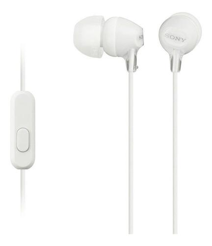 Imagen 1 de 2 de Audífonos in-ear Sony EX Series MDR-EX15AP blanco