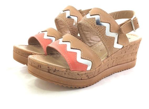 Encore 3063 Sandalia Cuero El Mercado De Zapatos!!
