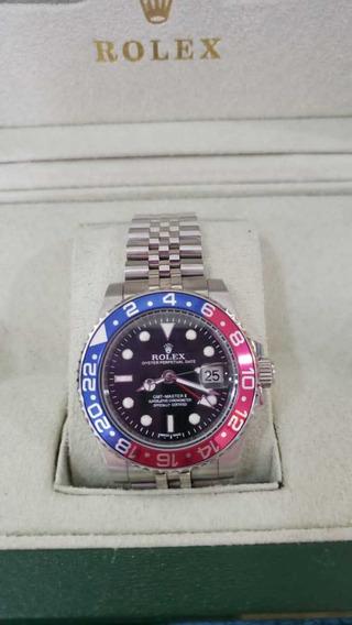 Relógio Rolex Gmt Master Ii Automático Pulseira Jubilee