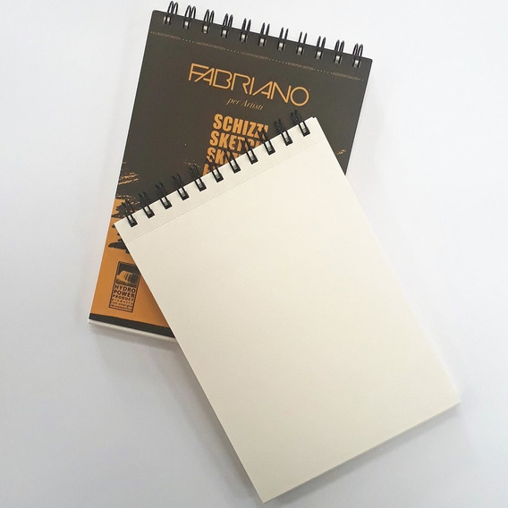 Sketchbook Fabriano Block De Dibujo 14 X 21 Cm.