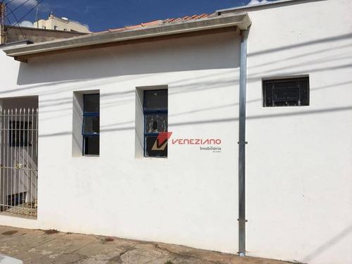 Casa Comercial À Venda, Alto, Piracicaba. - Ca0517