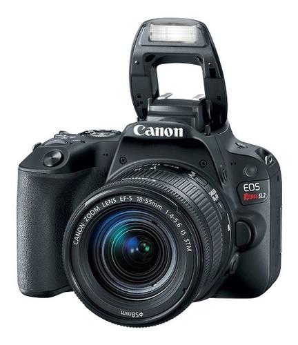 Canon Rebel Sl2 + Lente 18-55mm
