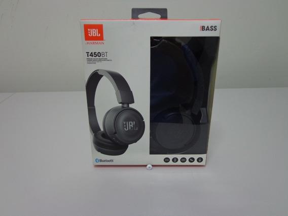 Fone De Ouvido Jbl T450 Bt Preto - Bluetooth