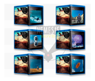 Blu-ray Pink Floyd: The Later Years (6 Bluray)-(1987-2019)