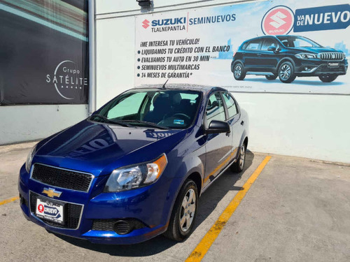 Chevrolet Aveo 2017 4p Ls L4/1.6 Man Actualizacion