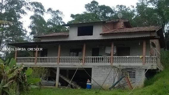 Chácara Para Venda Em Mogi Das Cruzes, Biritiba Ussu, 5 Dormitórios, 2 Banheiros, 3 Vagas - R003