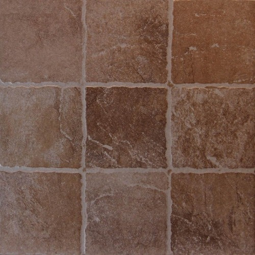 Cerámica Lourdes 35x35 Porfido Marrón 1° Calidad - Ceramisur