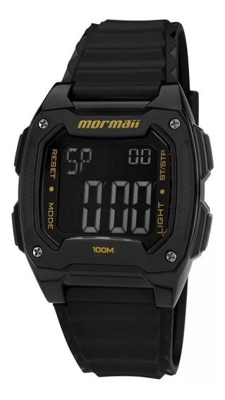 Relógio Mormaii Masculino Mo11516b/8y, C/ Garantia E Nf
