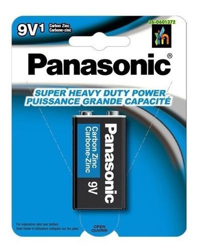 Imagen 1 de 6 de 6 Unidades Pila Panasonic Cuadrada 9v1  Original Batería 9v