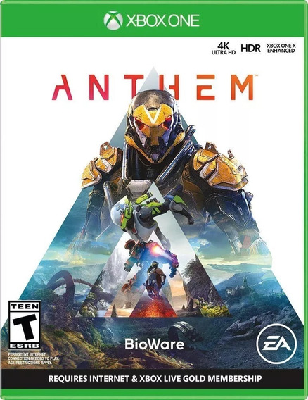 Anthem - Xbox One Midia Fisica Novo Lacrado