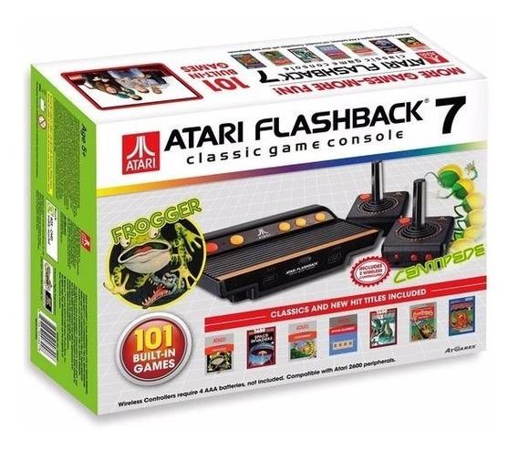 Atari Flashaback 7 Classic Game Console 101 Jogos Colecione