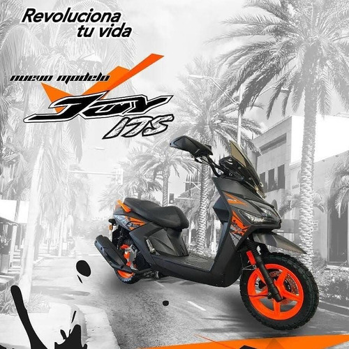 Moto Scooter Sukida Joy 175cc Año 2021