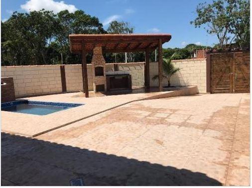 Casa Em Jardim Diplomata, Itanhaém/sp De 70m² 3 Quartos À Venda Por R$ 330.000,00 - Ca285215