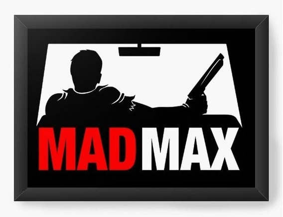 Quadro Decorativo Geekz Mad Max